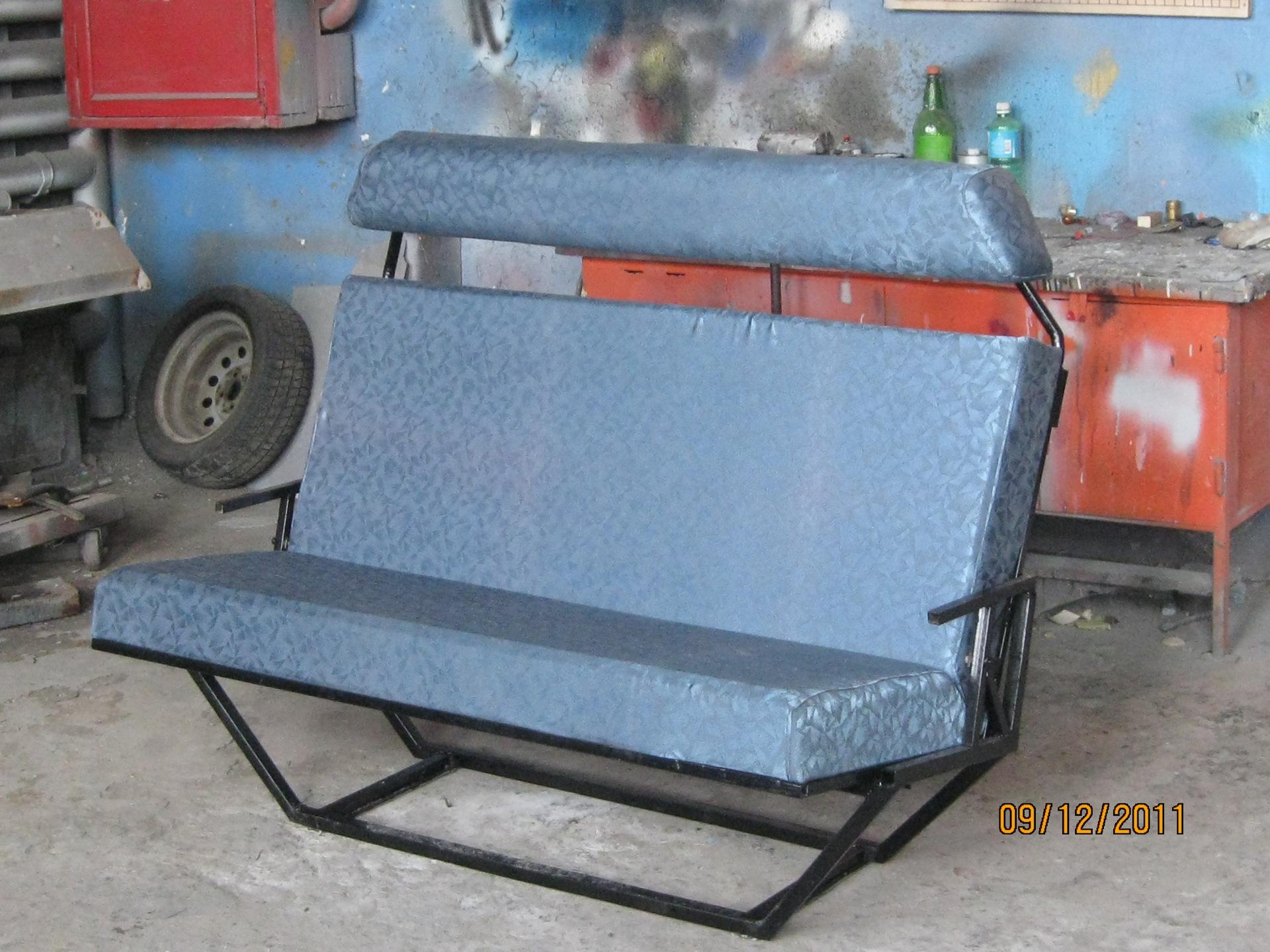 самодельный диван в салон. - бортжурнал Volkswagen Transporter микробус 1994 года на DRIVE2