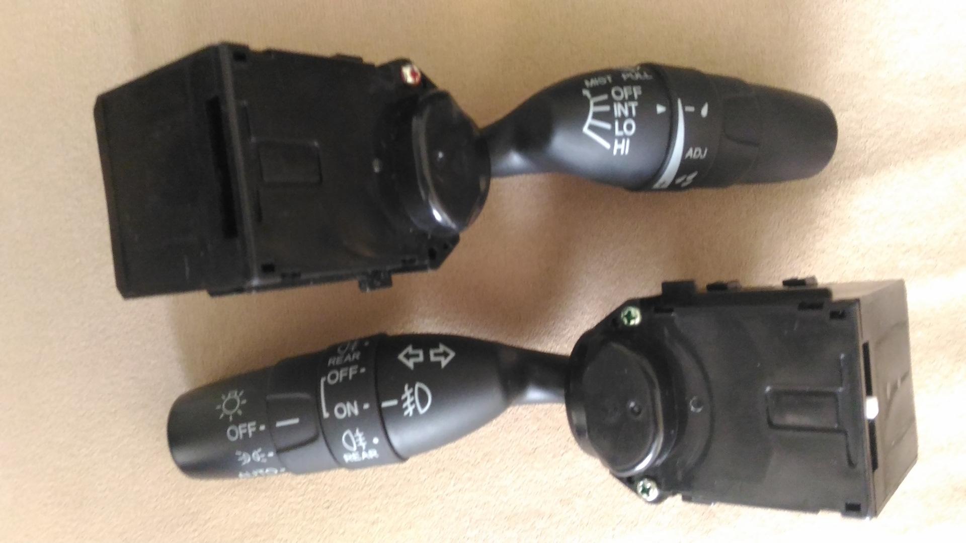 Замена рычага переключателя стеклоочистителя хонда цивик Замена трамблера е83