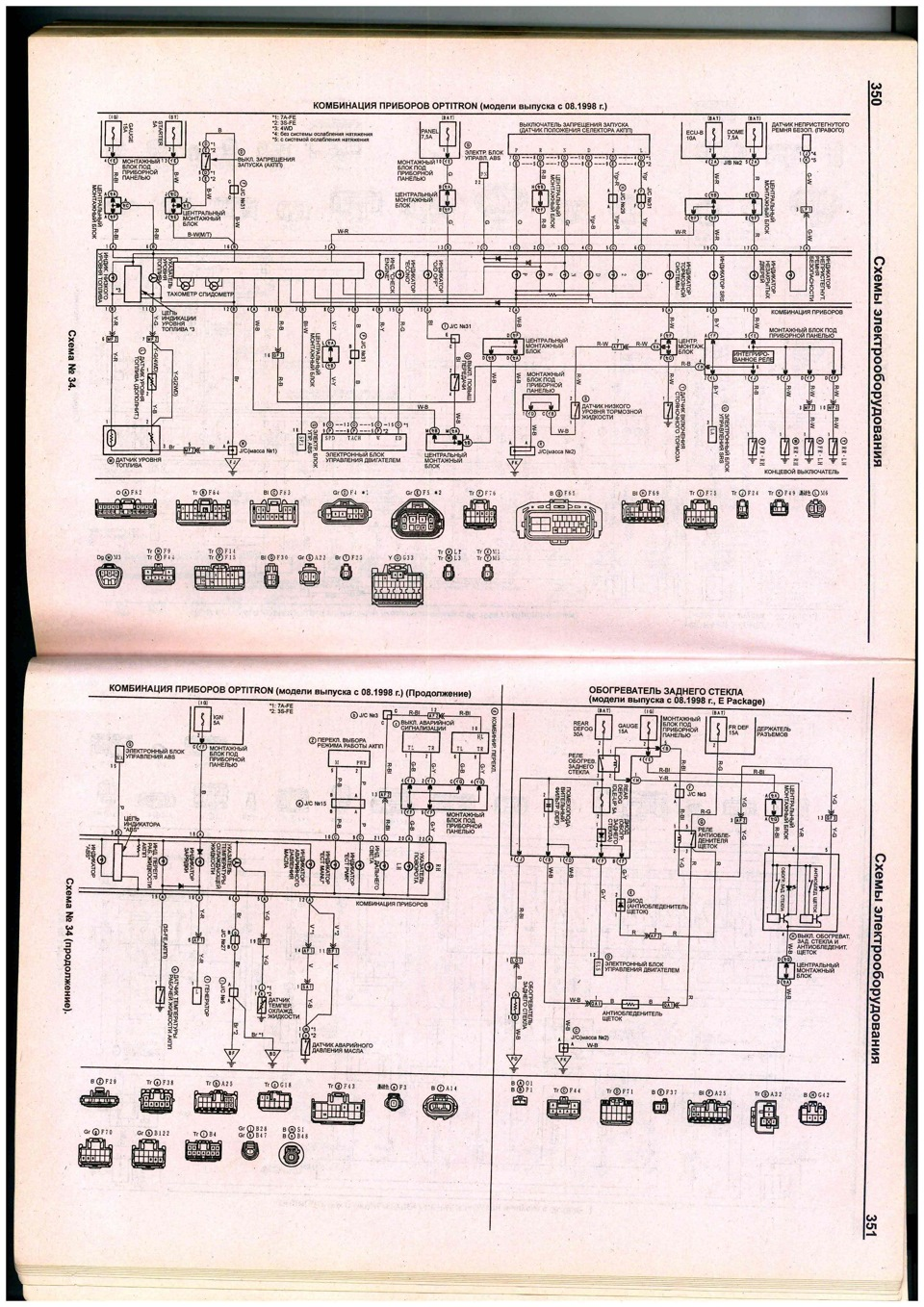 Replacement Of The Device With An Optotron Logbook Toyota Carina Gaia Wiring Diagram