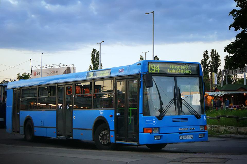 Результат местного капремонта, или в Будапеште обливали автобусы в голубой до того, как это стало мэйнстримом