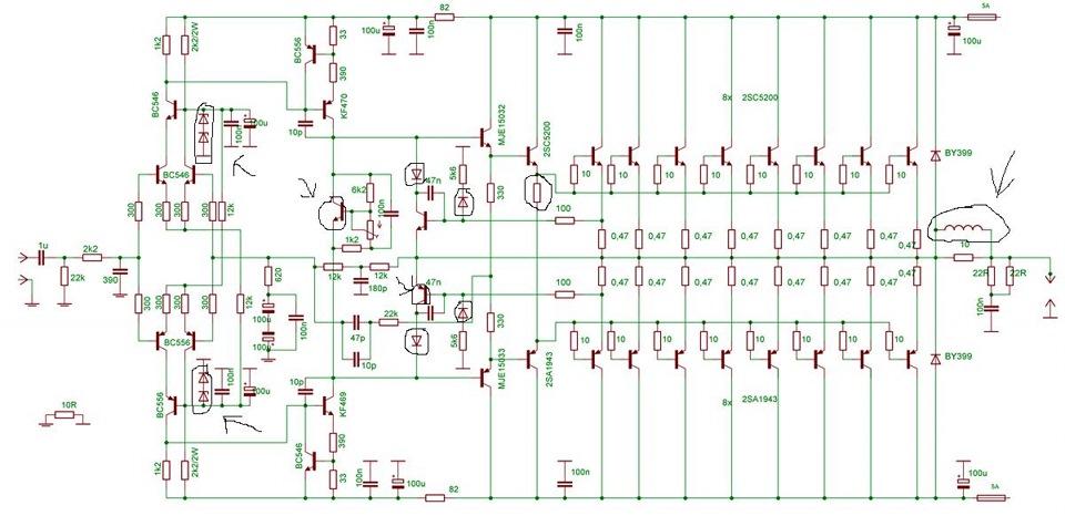 Транзисторный усилитель своими руками