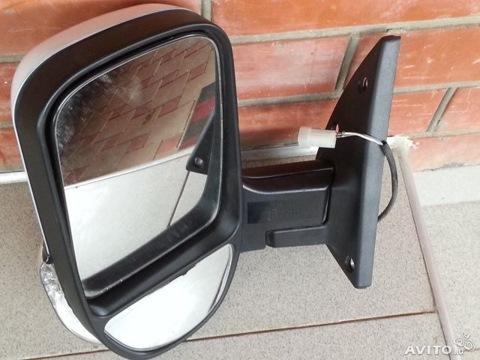 Как заменить зеркало на газель некст