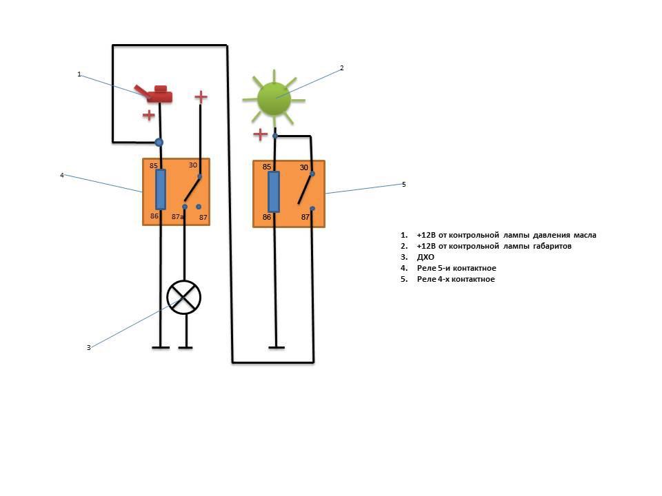 Схема ваз 21214м с дхо