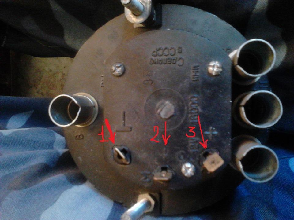 Схема подключения тахометра ваз 2106 в 2105