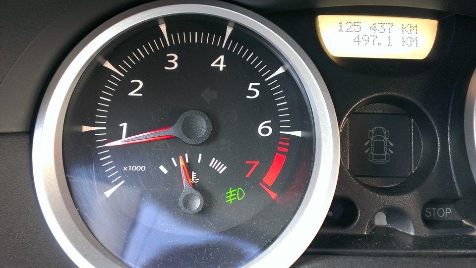 рабочая температура двигателя renault symbol