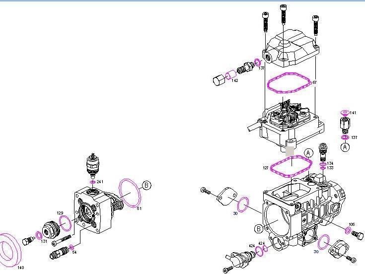 Ремкомплект топливного насоса как заменить