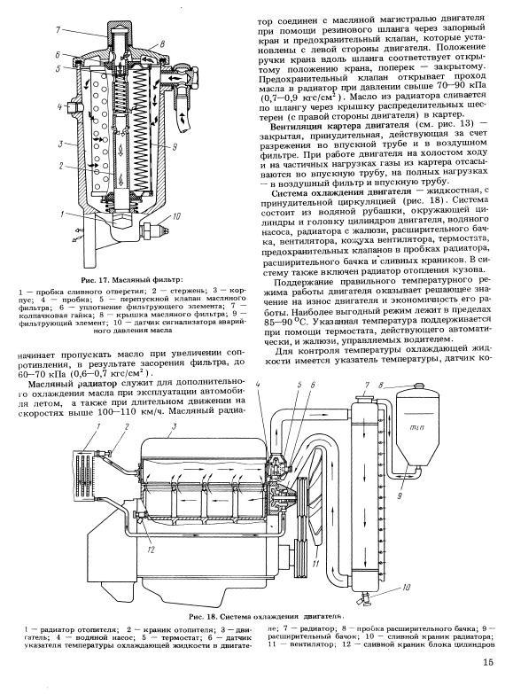 система охлаждения, схема
