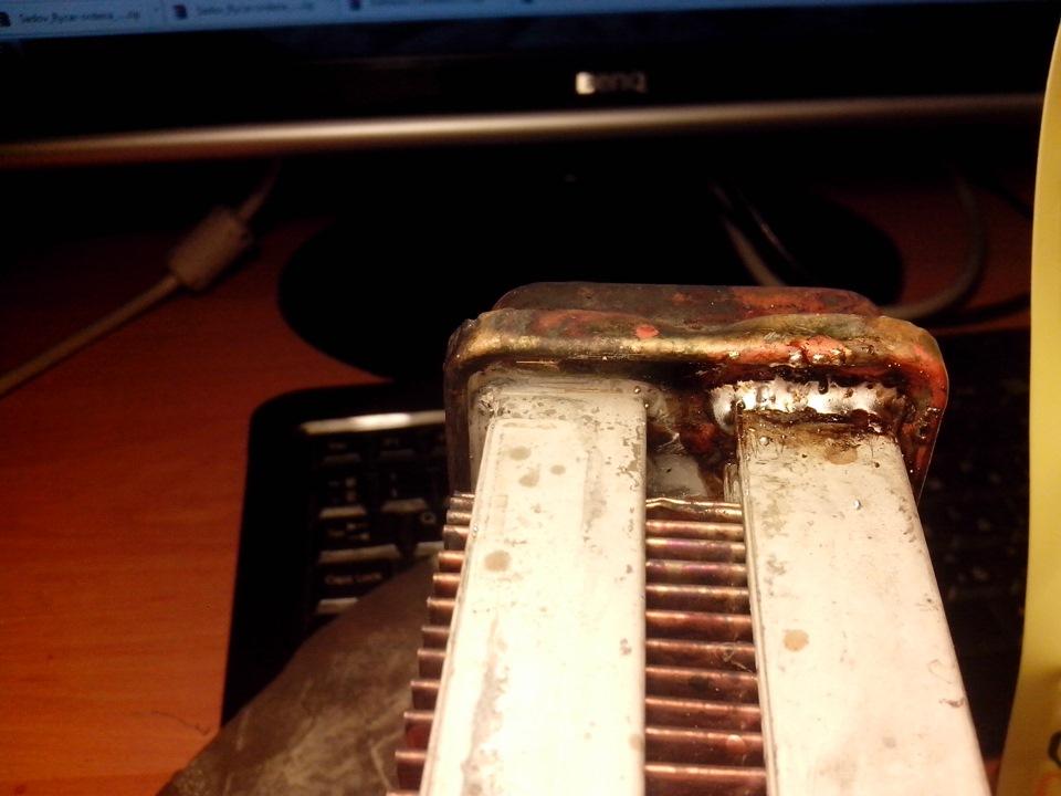Запаять радиатор в домашних условиях
