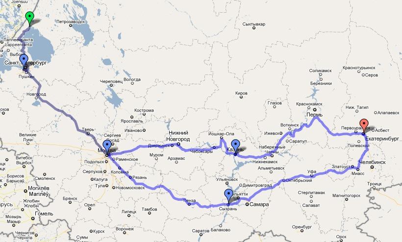 Карта: