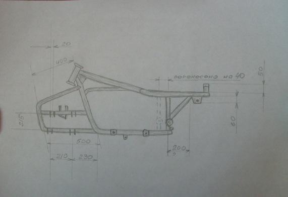 Как сделать квадроцикл своими руками из урала и чертежи к нему 45