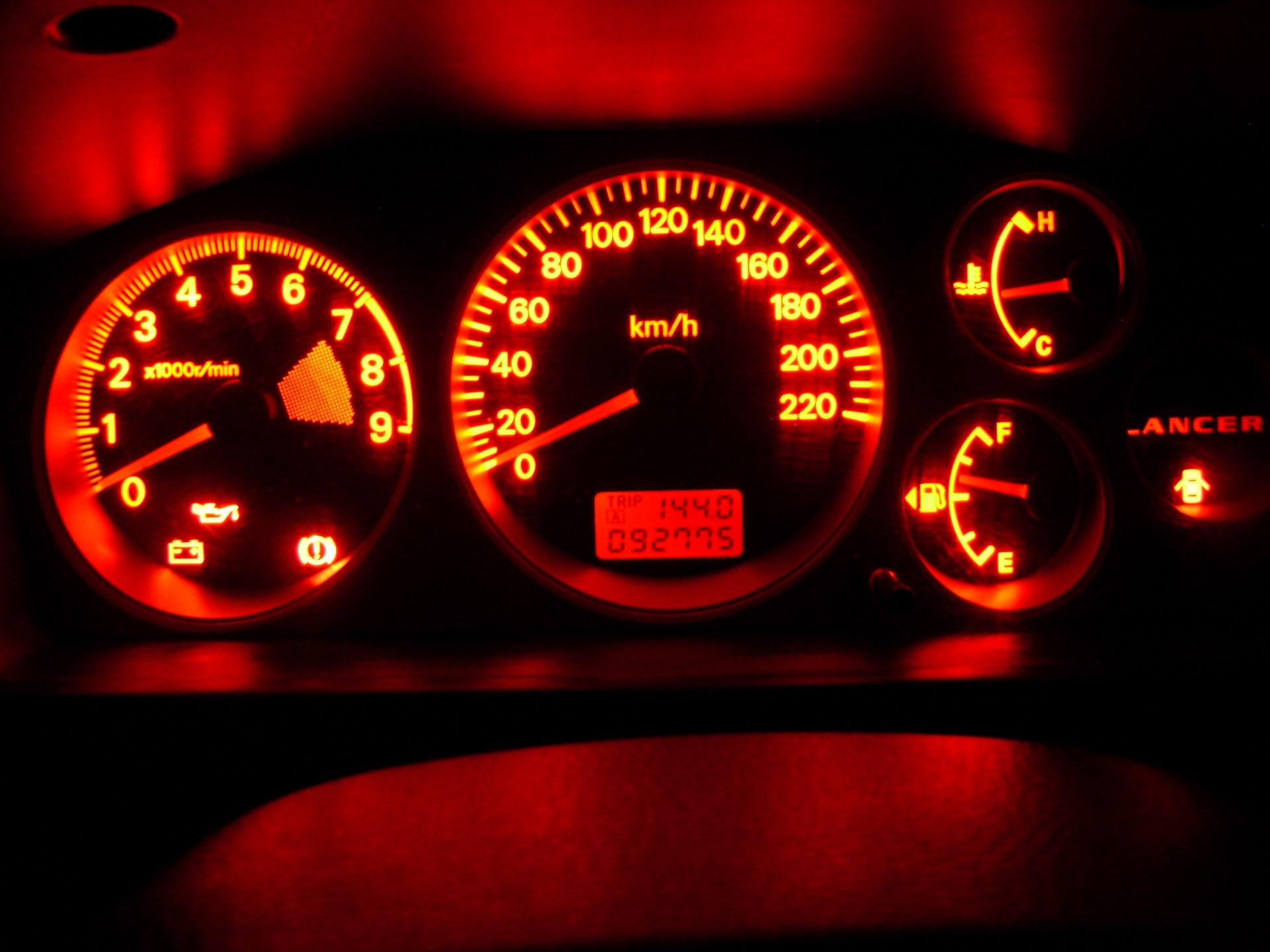 Подсветка приборов для авто
