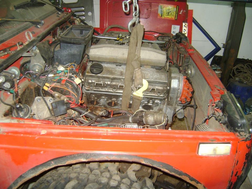 Ваз 2106 с двигателем от нивы