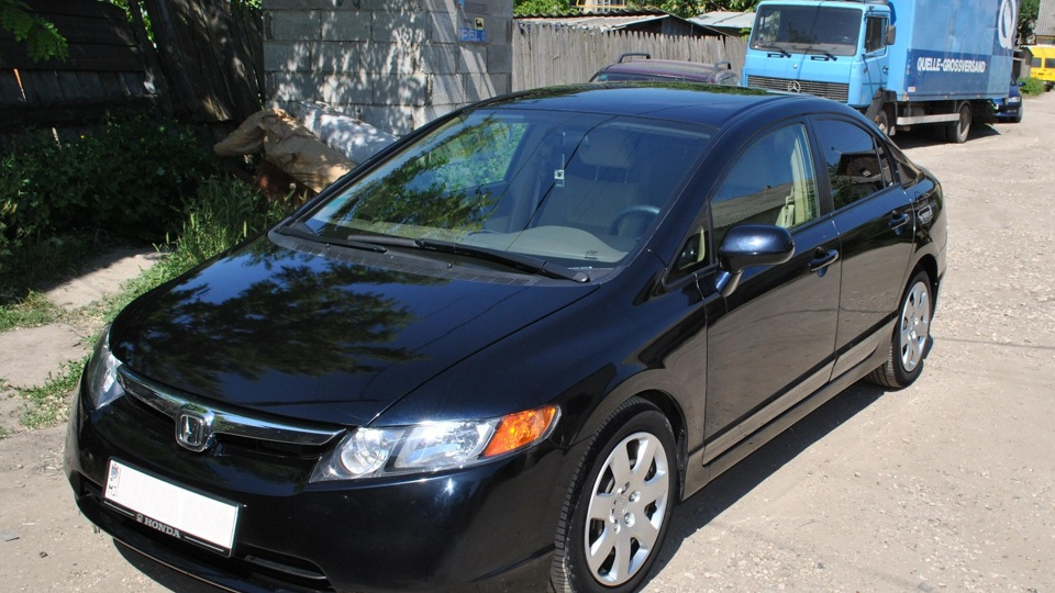 honda civic 2009 америанец