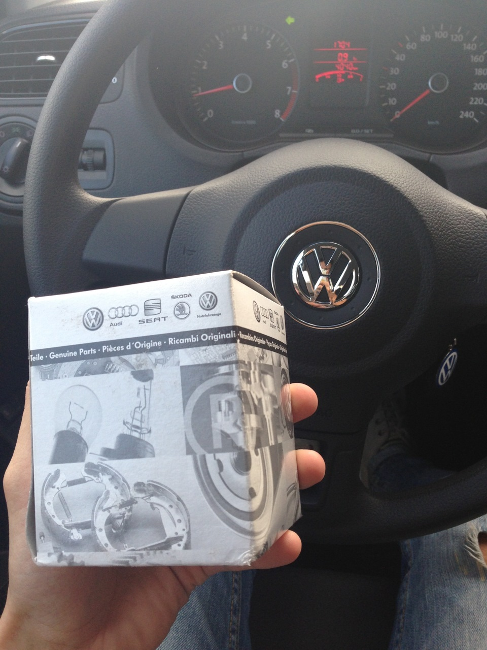 аксессуары volkswagen polo sedan