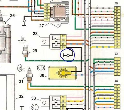 катушка зажигания схема электрическая