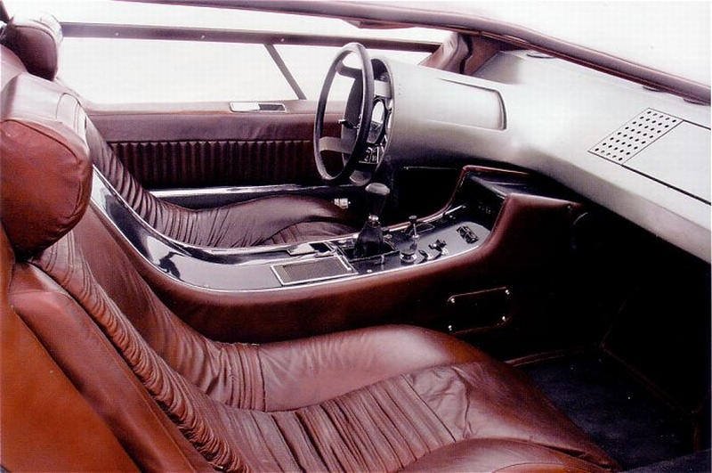 Maserati boomerang 1972