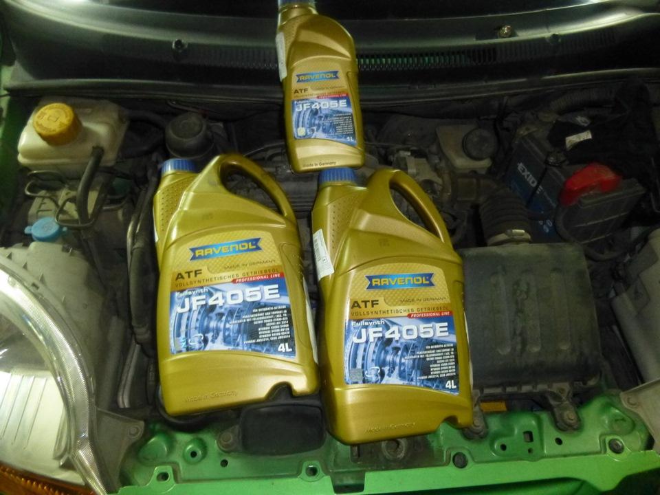 масло в акпп chevrolet spark 2007