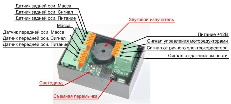 Подключение к микропроцессору