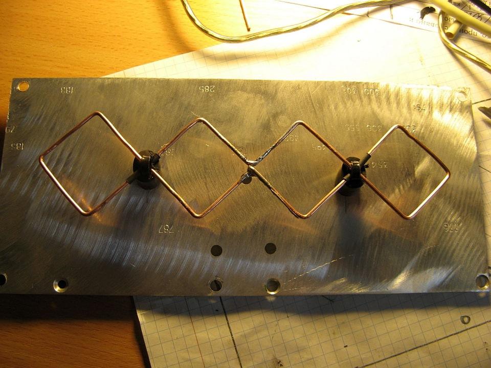 фото инструкция антенна харченко пленку