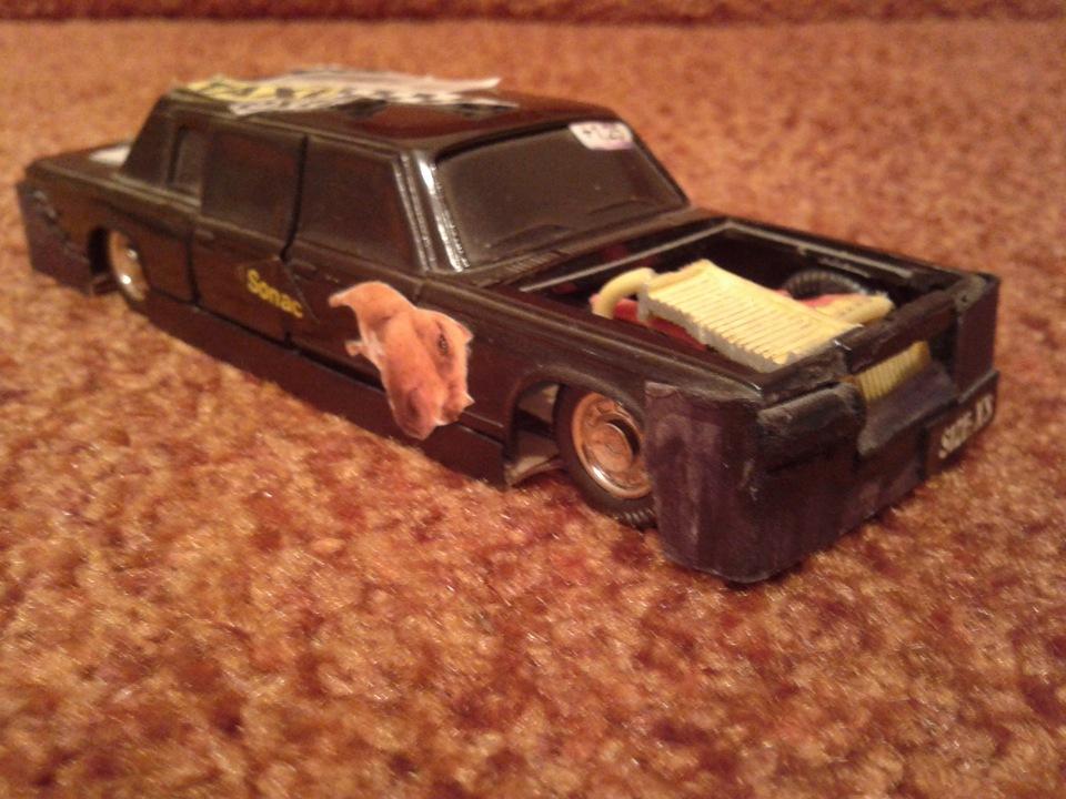 Тюнинг игрушечных машинок фото