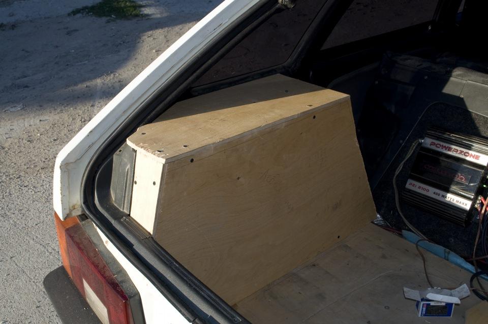 Как сделать багажник на ваз 2109 от кнопки 371