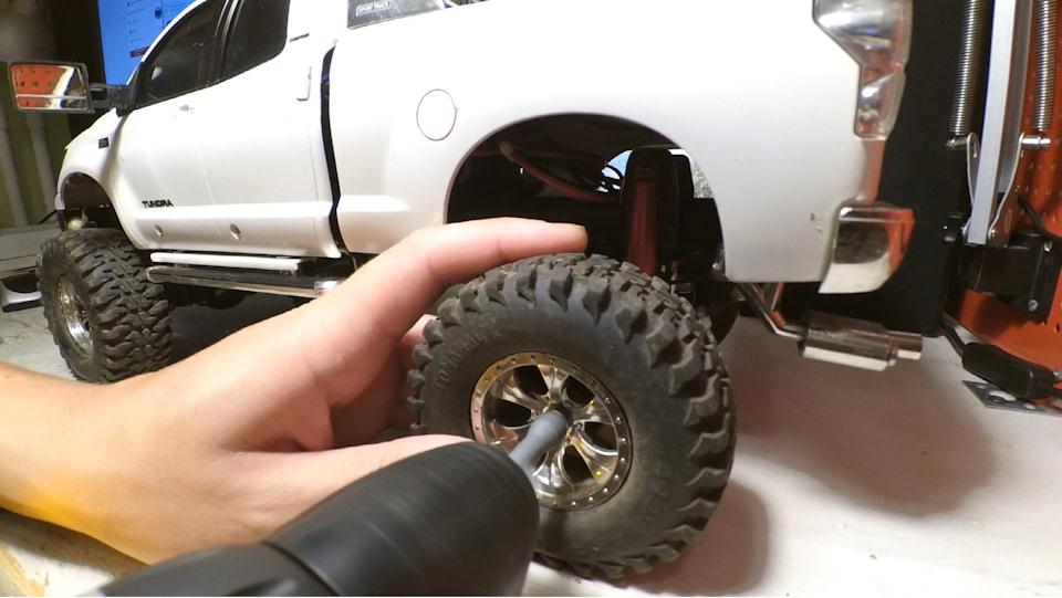 Проект по переборке Toyota Tundra