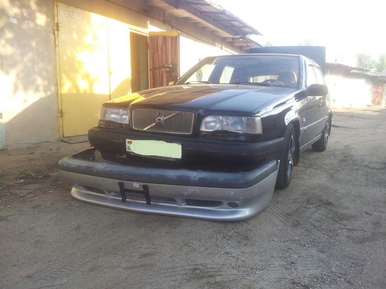 бампер передний на volvo 850 t5r