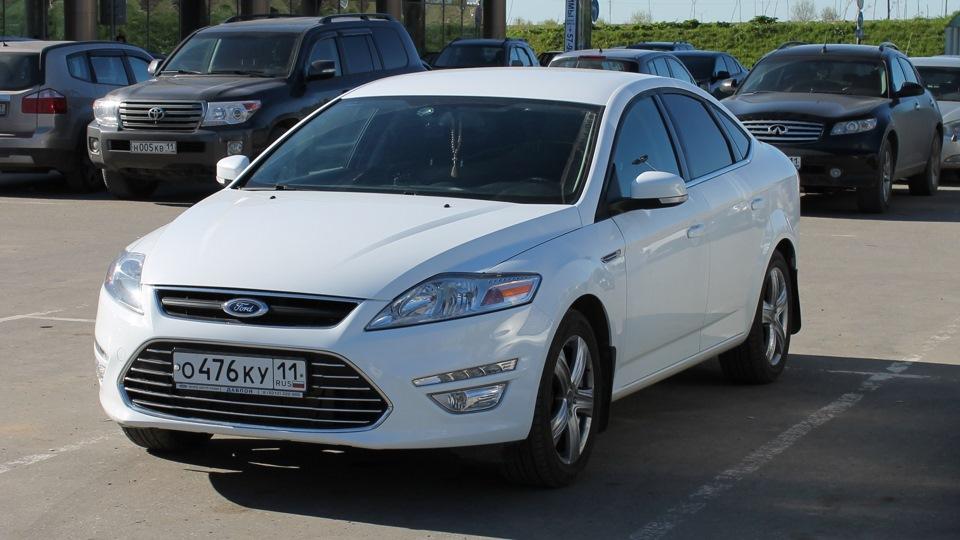 Форд мондео белый фото