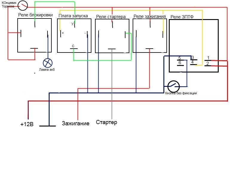 Вот схема всей конфигурации,