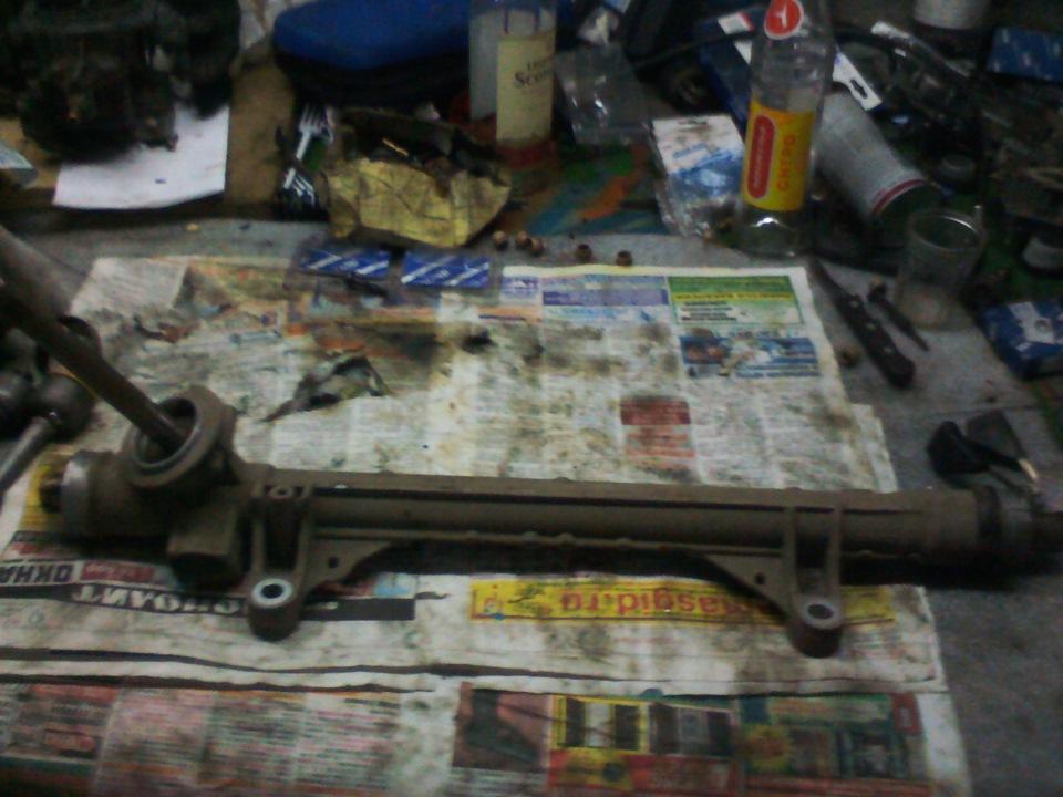Рено меган 2 ремонт рулевой рейки