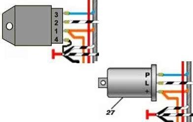 Ответы@mail. Ru: схема подключения реле поворотов ваз 2101.