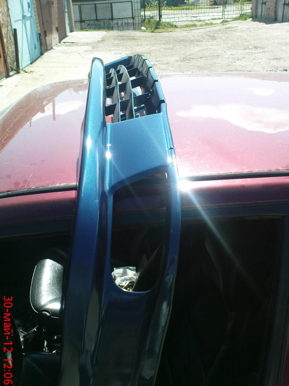 Юбка бампера сааб 9000