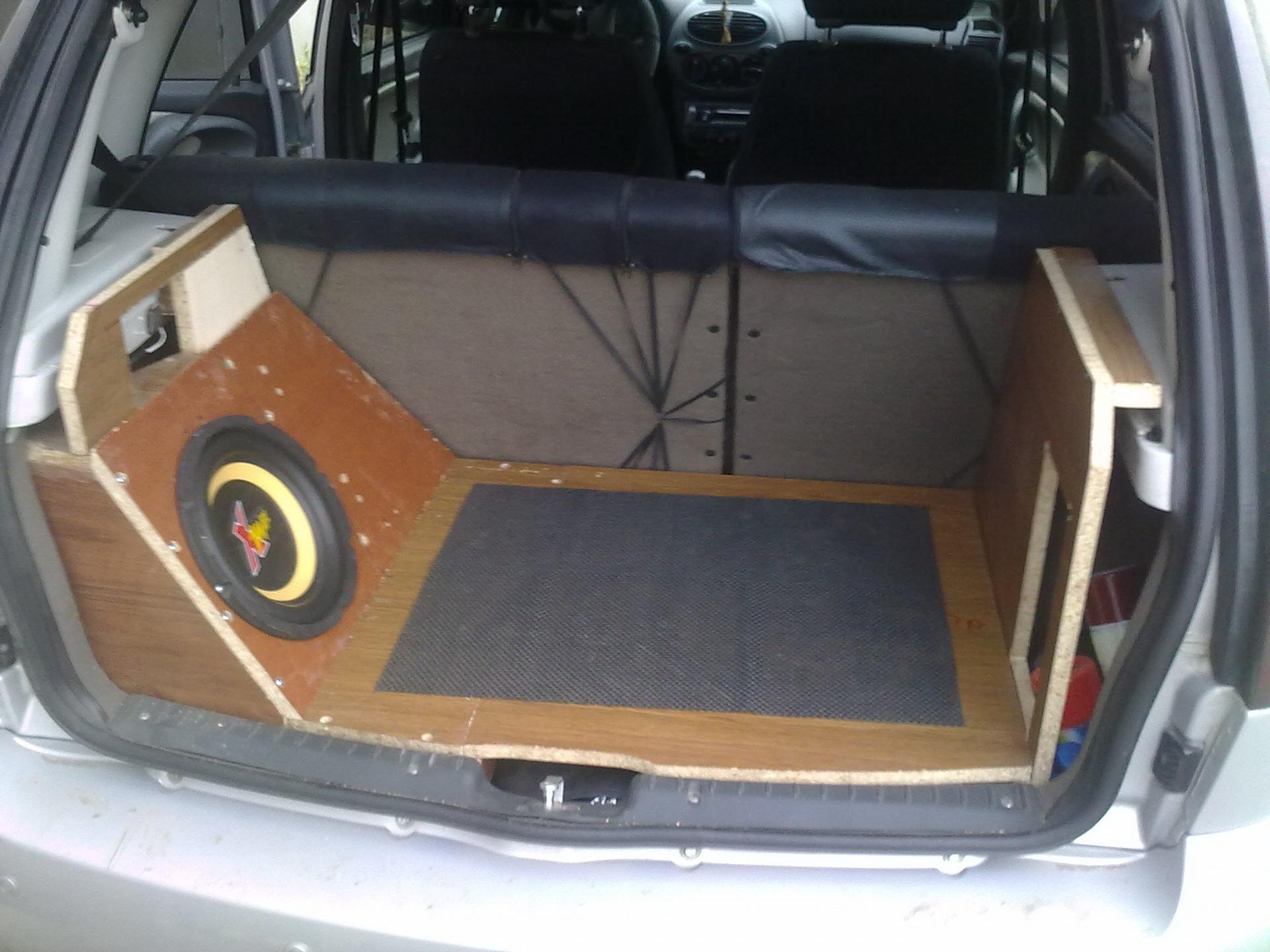 Стелс в багажник