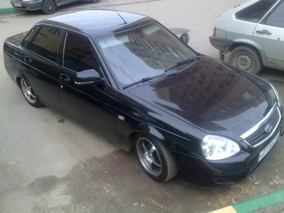 Колеса R15 на Приору - Drive2 ru