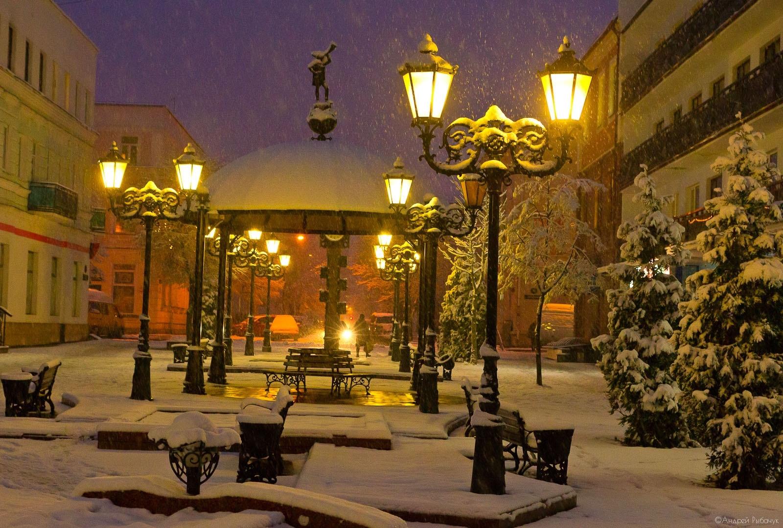 зимний вечер в польше картинка самые креативные