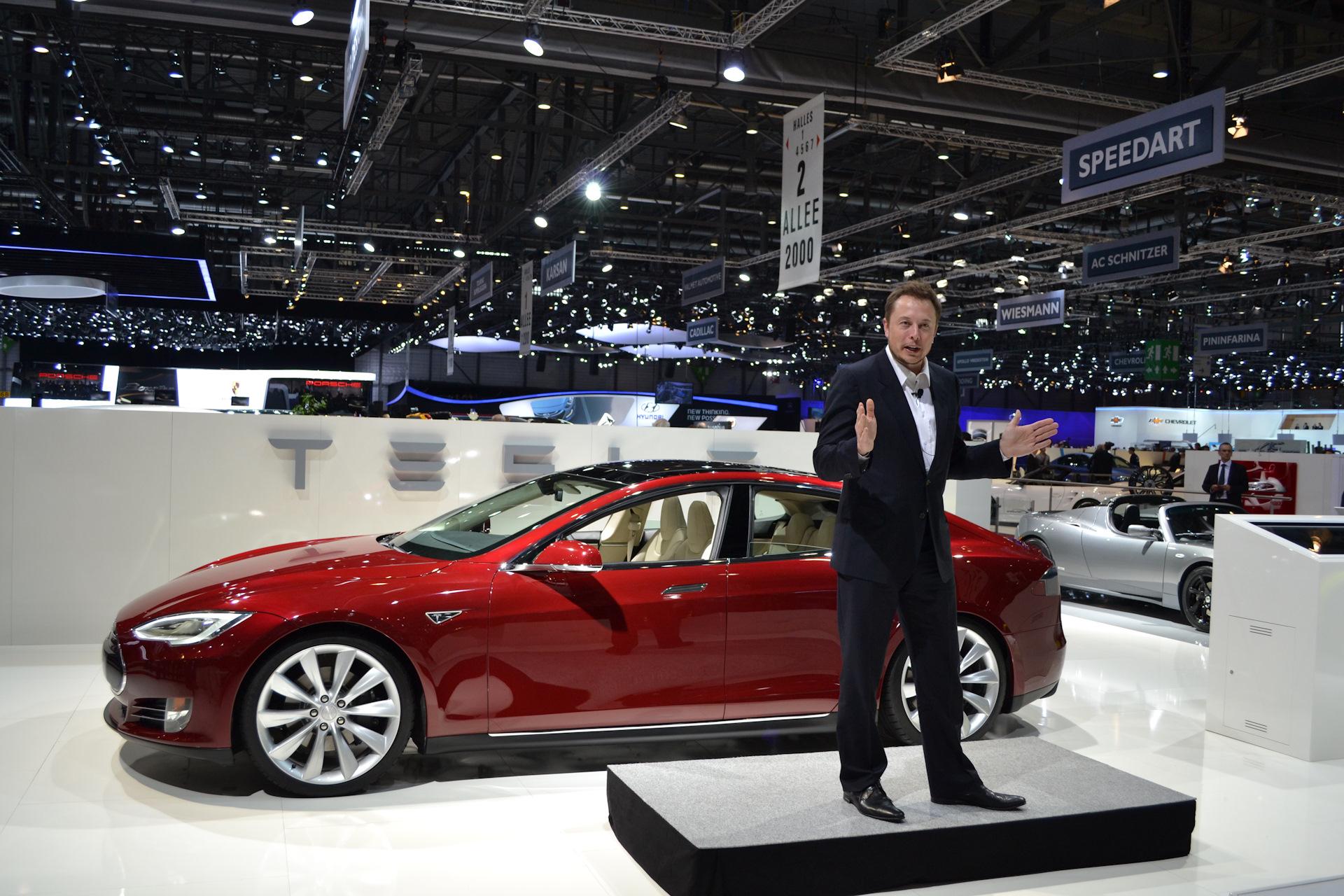 автомобиль тесла полный цикл зарядки аккумуляторов