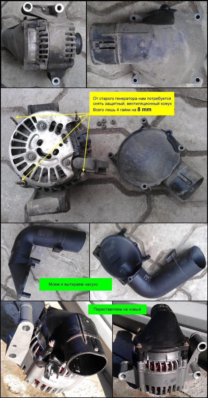 инструкция по установке ремня генератора форд маверик