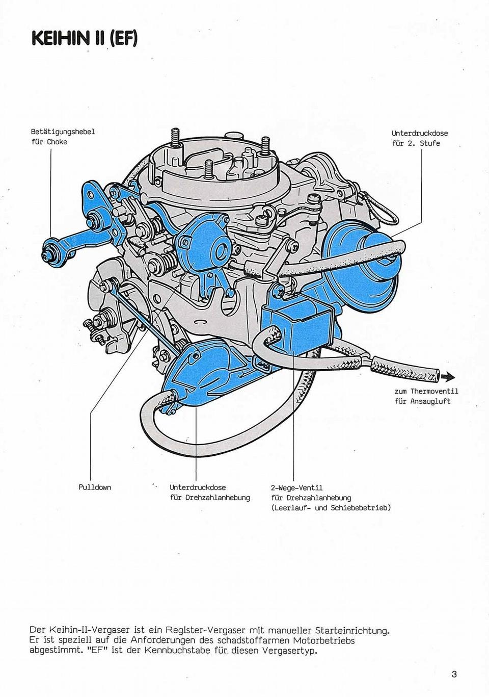 Toyota схема карбюратор