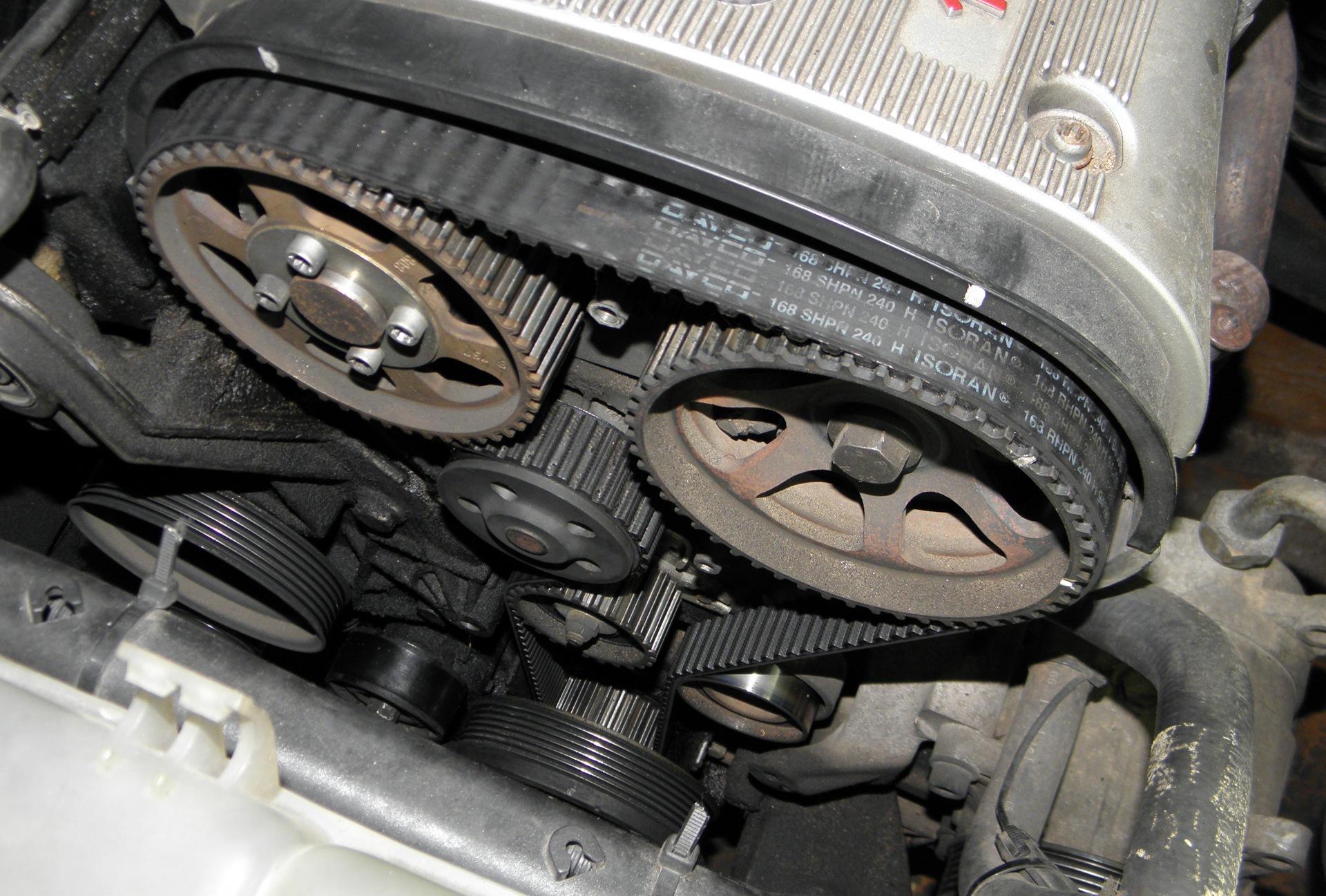 1-ая попытка заменить ремень ГРМ - бортжурнал Alfa Romeo 156 Claer Motorsport 1997 года на DRIVE2
