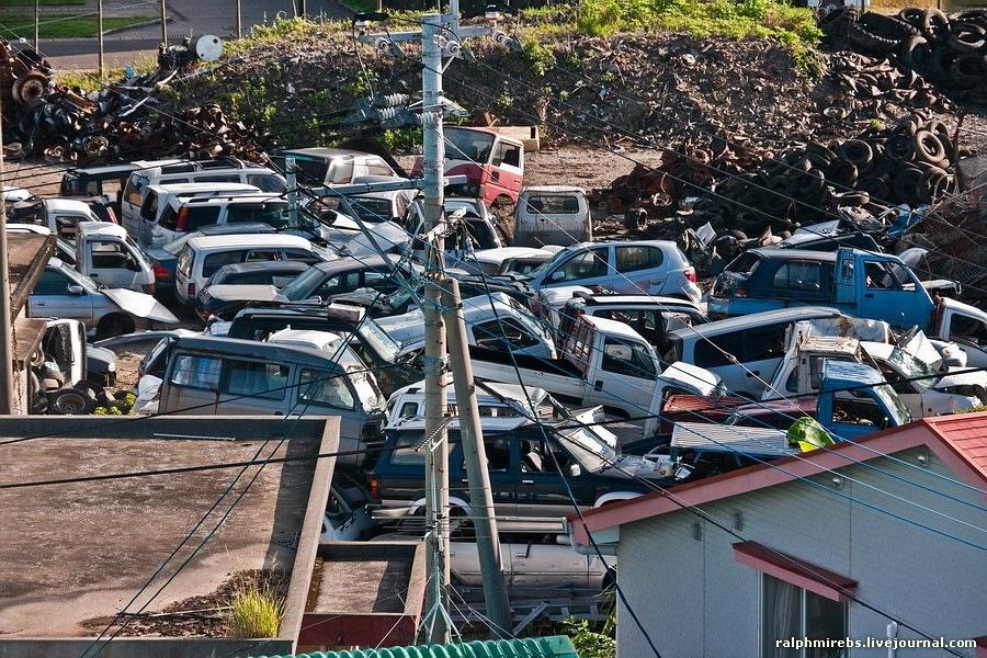 люди если автосвалки японии фото отдали