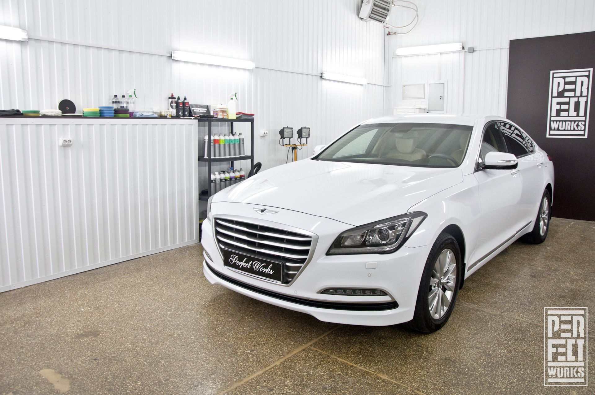 Hyundai Genesis детейлинг комплекс Perfect Works на Drive2