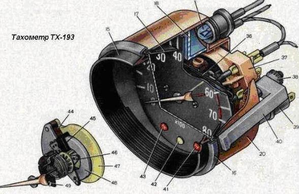 Электросхемы автомобиля ВАЗ 2106 - (схемы системы генератора, зажигания, бесконтактной.