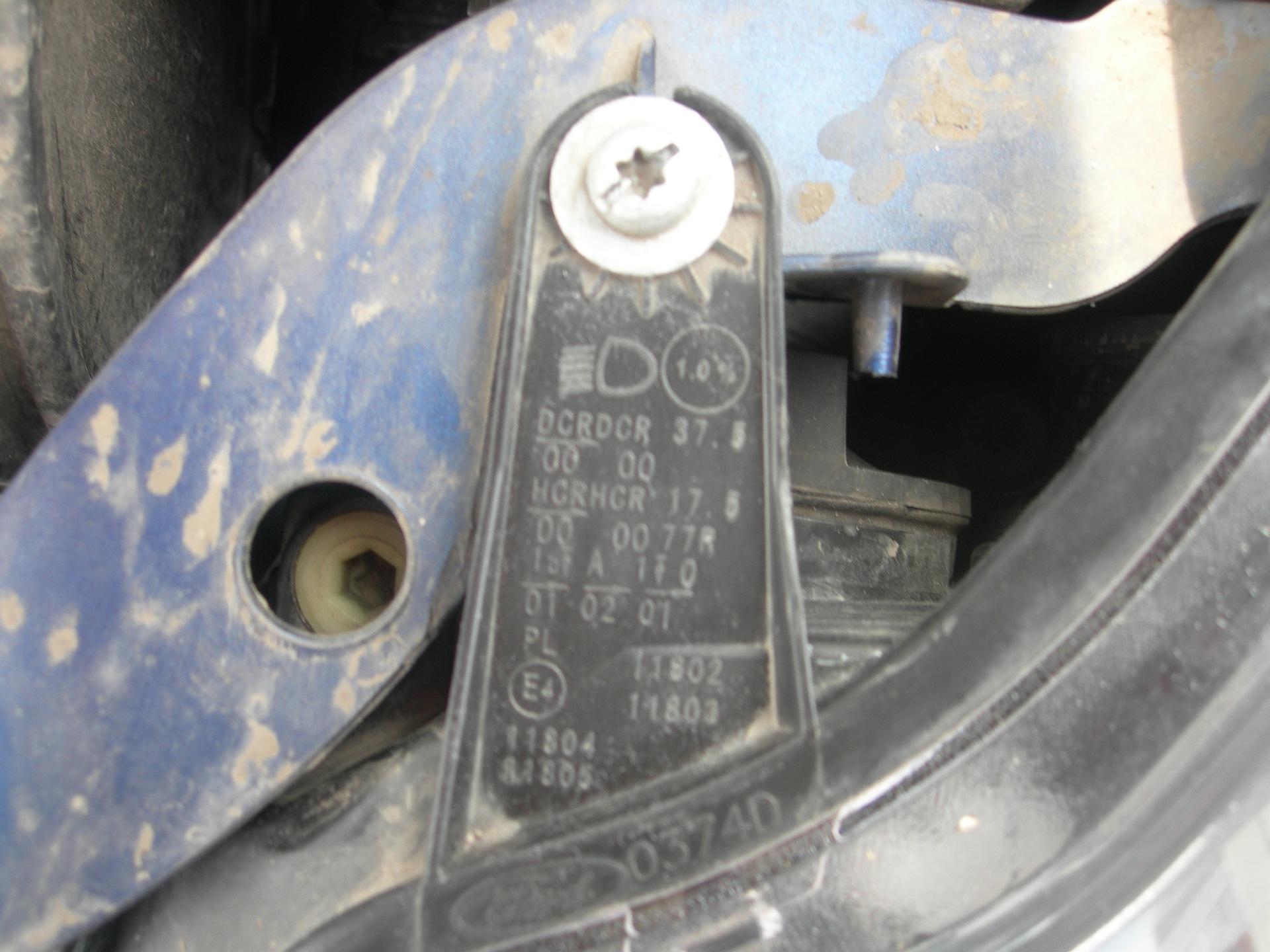 как узнать заводской ксенон ford focus 2