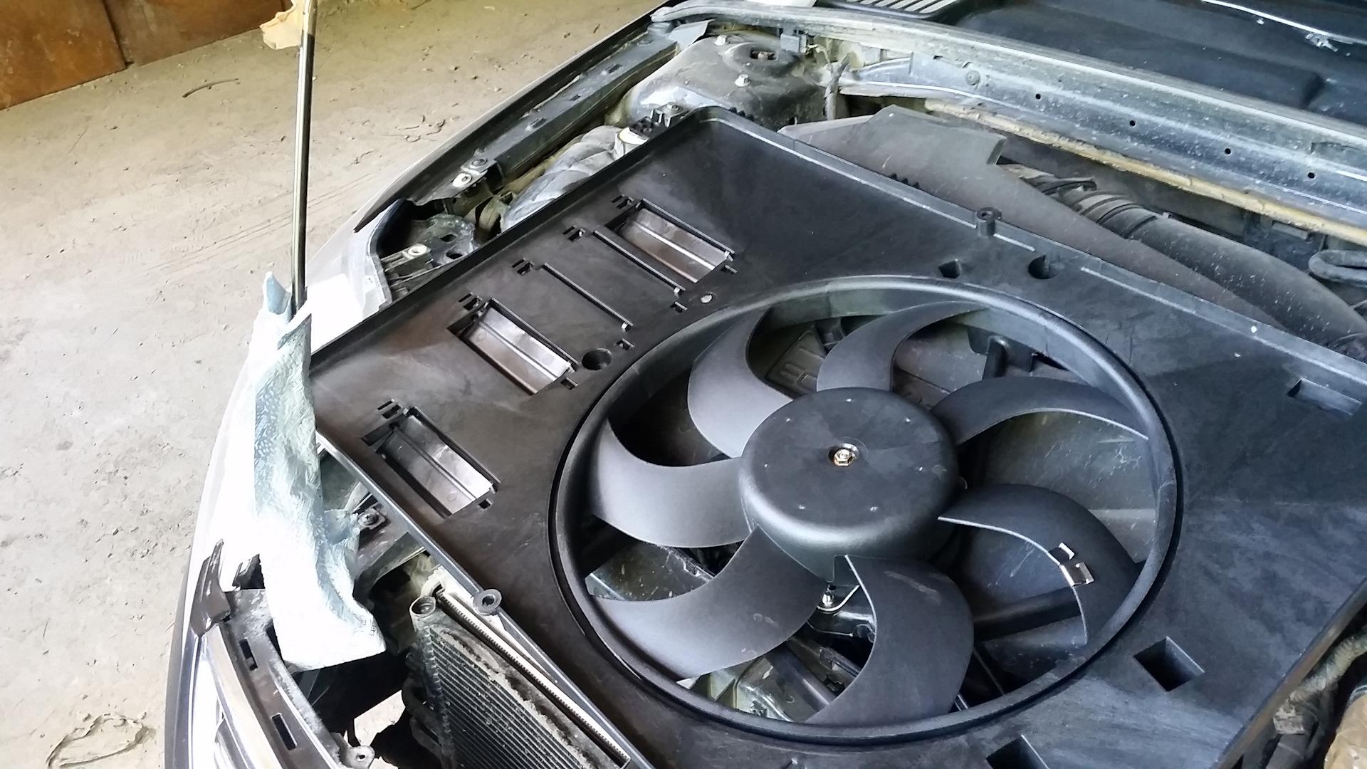 Вентилятор охлаждения ремонт своими руками
