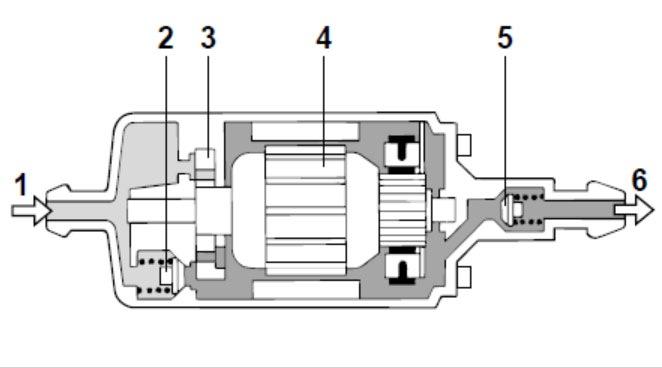 обратный клапан бензина мерседес 102