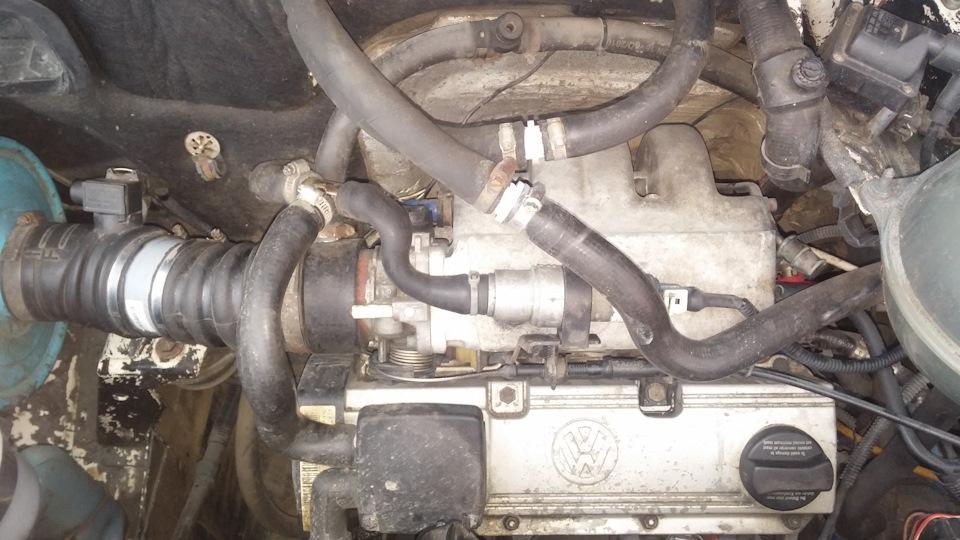 замена двигателя на транспортере