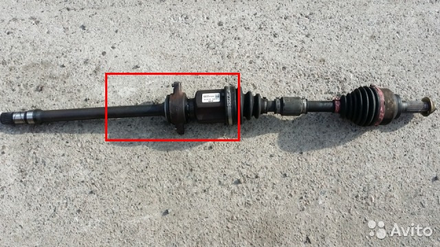 mazda premacy люфт переднего привода