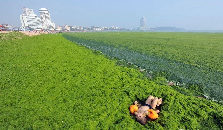 фото желтого моря в китае будет оригинально, или