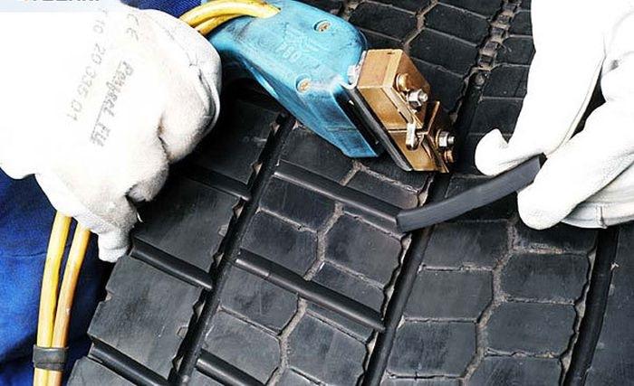 Как нарезать протектор на грузовой шине своими руками