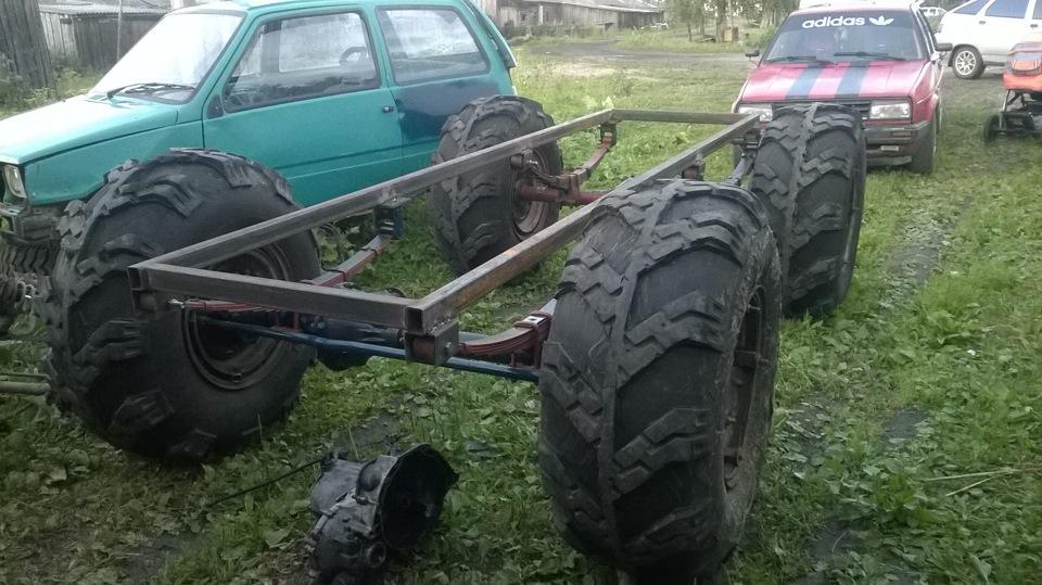 Каракаты  на шинах